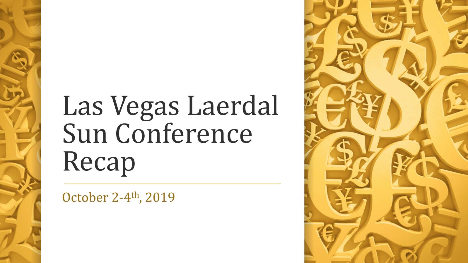 Las Vegas Laerdal SUN Conference 2019